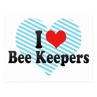I Love Bee Keepers Post Card