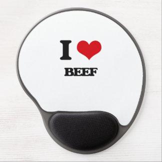 I Love Beef Gel Mousepad