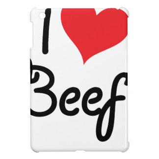 I Love Beef iPad Mini Cases