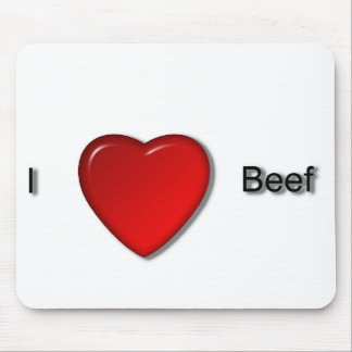 I love Beef Mouse Pad