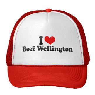 I Love Beef Wellington Trucker Hat