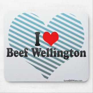 I Love Beef Wellington Mouse Pad