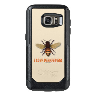 I Love Beekeeping Bee Attitude Apiarist OtterBox Samsung Galaxy S7 Case