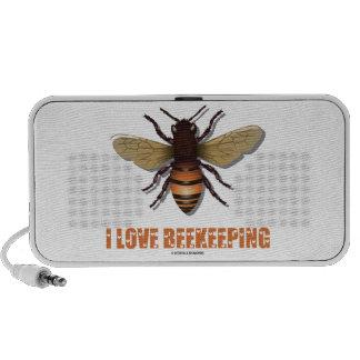 I Love Beekeeping (Bee) iPod Speakers
