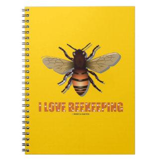 I Love Beekeeping (Bee) Notebook