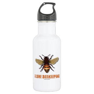 I Love Beekeeping (Bee) Stainless Steel Water Bottle