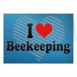 I Love Beekeeping Greeting Card