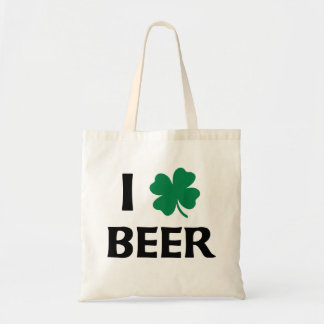 I Love Beer Canvas Bags