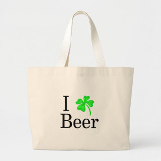 I Love Beer Jumbo Tote Bag
