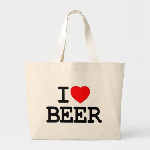 i love beer bags