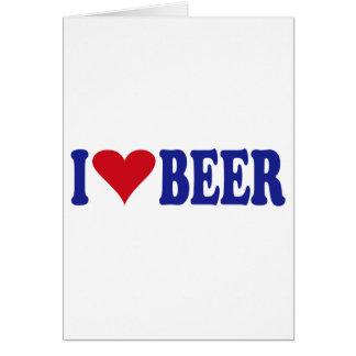I Love Beer Cards