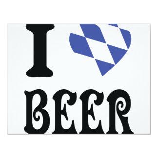 I love beer card