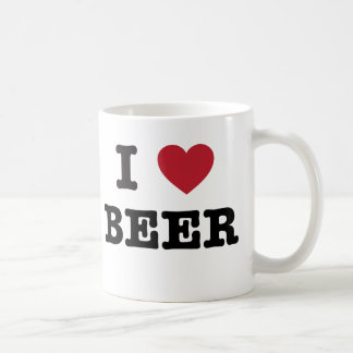 i love Beer Classic White Coffee Mug