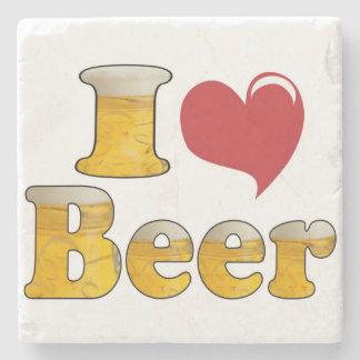 I Love Beer Coaster