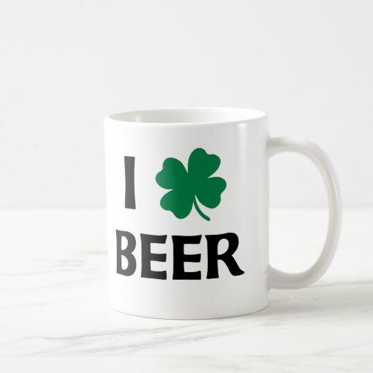 I Love Beer Coffee Mug