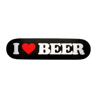 I LOVE BEER CUSTOM SKATE BOARD