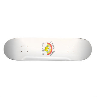 I love beer deal with it skate boards