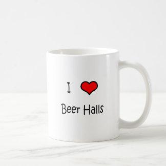 I Love Beer Halls Coffee Mug