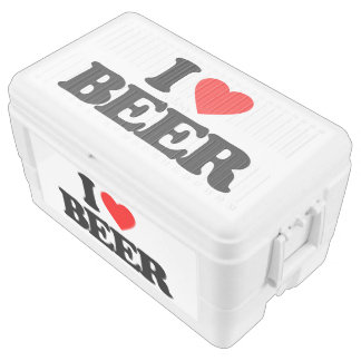 I LOVE BEER ICE CHEST
