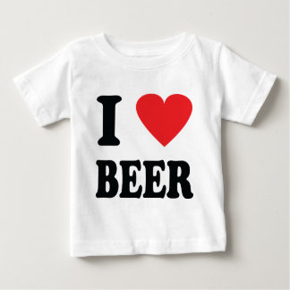 I love beer icon baby T-Shirt