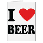 I love beer icon cards