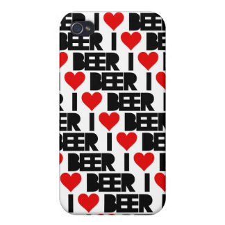 i Love Beer iPhone 4 Case