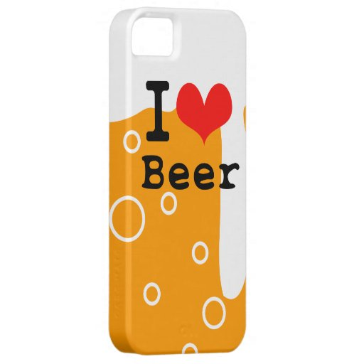 I Love Beer iPhone SE/5/5s Case