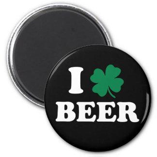 I Love Beer Fridge Magnets