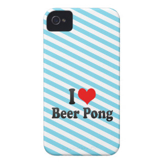 I love Beer Pong iPhone 4 Cases