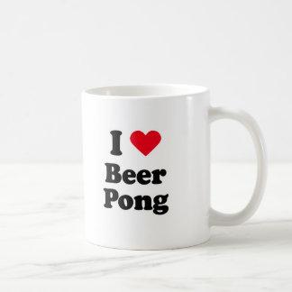 I love beer pong coffee mug