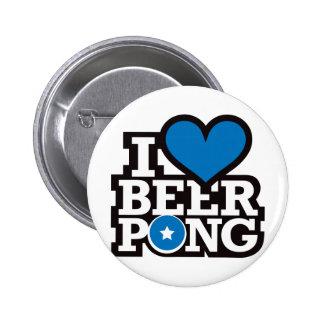 I Love Beer Pong v2 - Blue Buttons