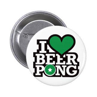 I Love Beer Pong v2 - Green Pins