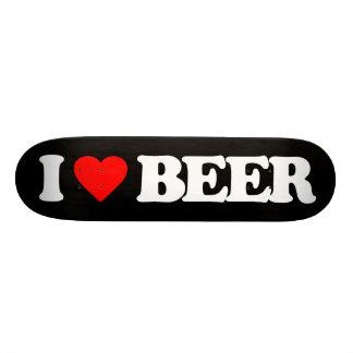 I LOVE BEER SKATEBOARD