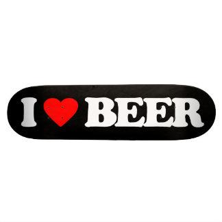 I LOVE BEER SKATEBOARD DECK