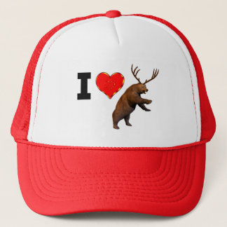 I Love Beer Trucker Hat