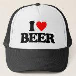 """I LOVE BEER TRUCKER HAT<br><div class=""""desc"""">I LOVE BEER</div>"""