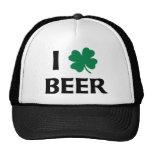 I Love Beer Trucker Hats