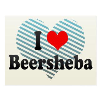 I Love Beersheba, Israel Postcard