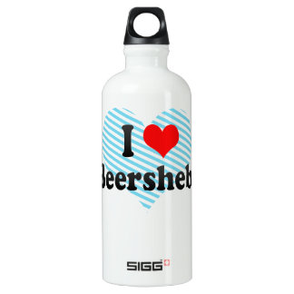I Love Beersheba, Israel SIGG Traveler 0.6L Water Bottle