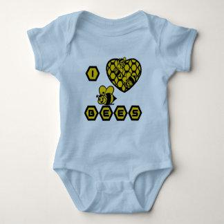 I LOVE BEES BABY BODYSUIT
