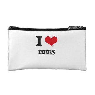 I love Bees Cosmetics Bags