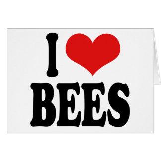 I Love Bees Card