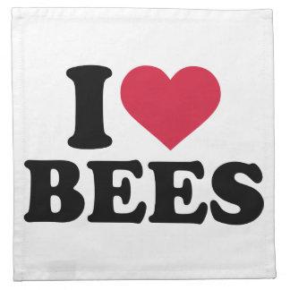 I love bees napkins