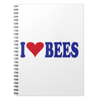 I Love Bees Notebook