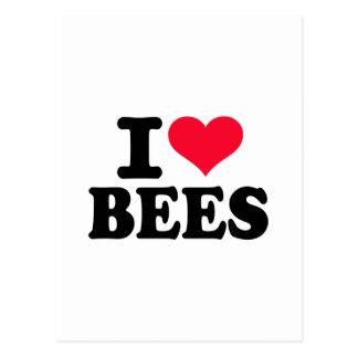 I love Bees Post Card