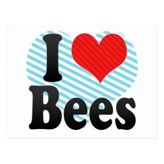 I Love Bees Postcards