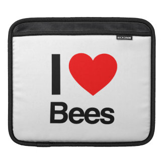 i love bees sleeves for iPads
