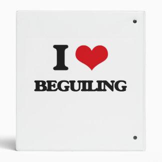 I Love Beguiling Binder