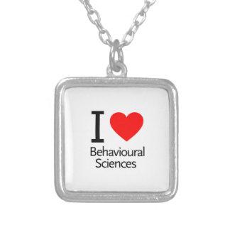 I Love Behavioral Science Custom Jewelry