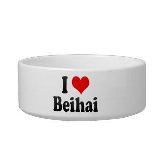 I Love Beihai, China Cat Water Bowls